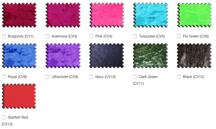 P Pod colour options